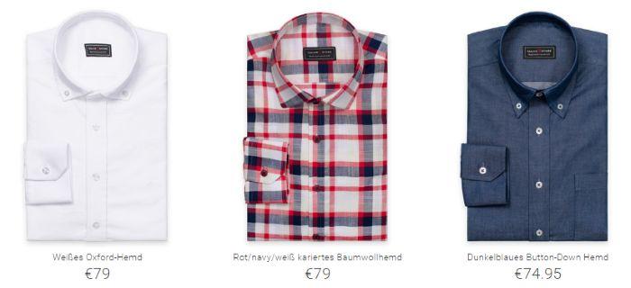 Tailor Store: Hemden für 79€