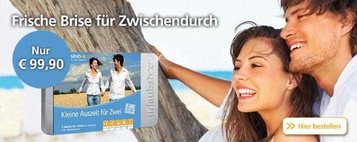 Urlaubsbox - Frische Brise für Zwischendurch nur 99.90€!