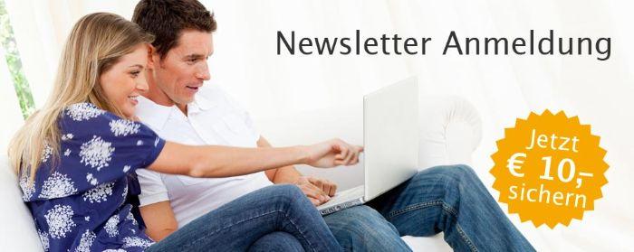 Urlaubsbox - Newsletter Anmeldung: Jetzt 10€ Gutschein sichern!