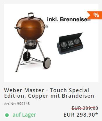 Weber Master 23% reduziert im grillshop.at