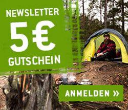 Bergfreunde Newsletter 5€ Gutschein sichern - jetzt anmelden!