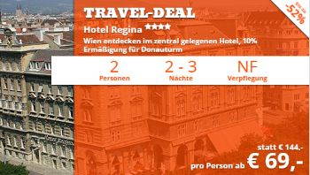 Bis zu 52% Rabatt auf den Travel Deal von we-are.travel!