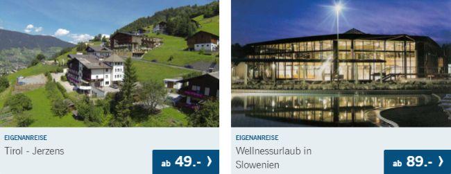 Lidl Reisen Angebot: Tirol Jerzens ab 49€ oder Wellnessurlaub in Slowenien ab 89€!
