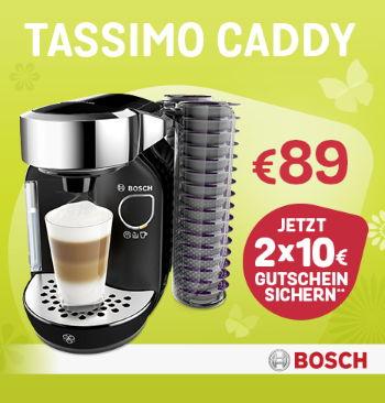 TASSIMO Candy für 89€ + Jetzt 2 x 10€ Gutschein sichern!