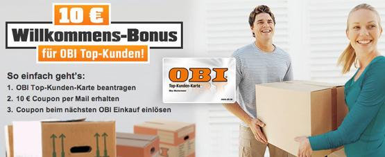 OBI Rabatt-Gutschein