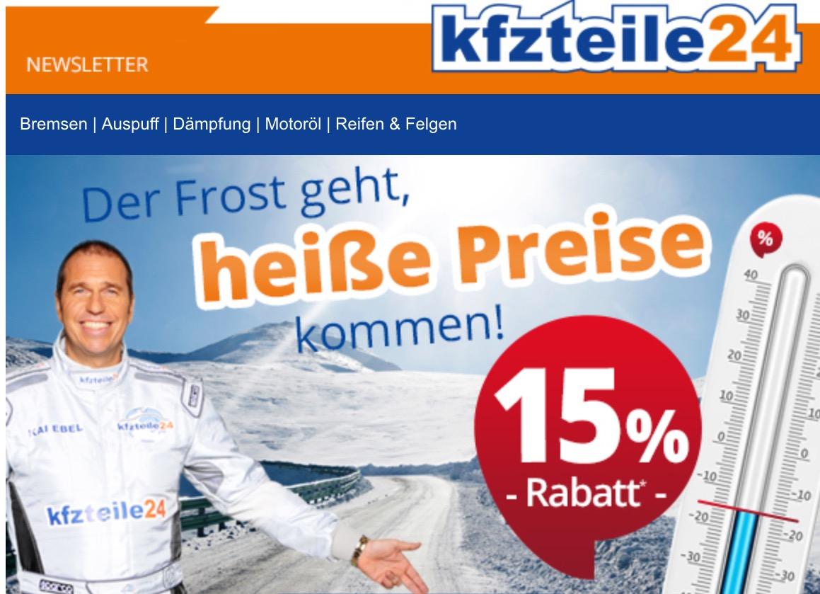 kfzteile24 Gutscheincode